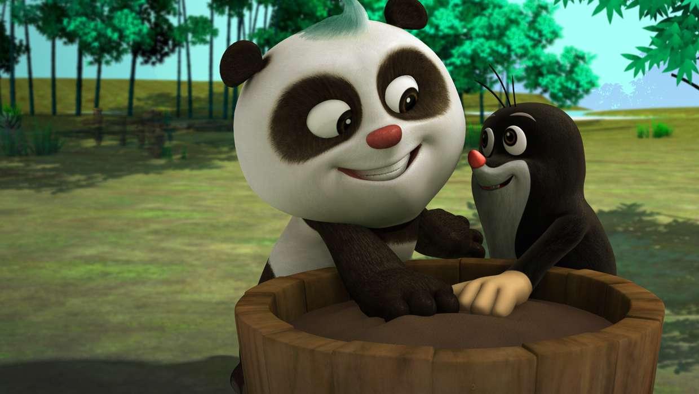 Кротик и Панда смотреть сериал