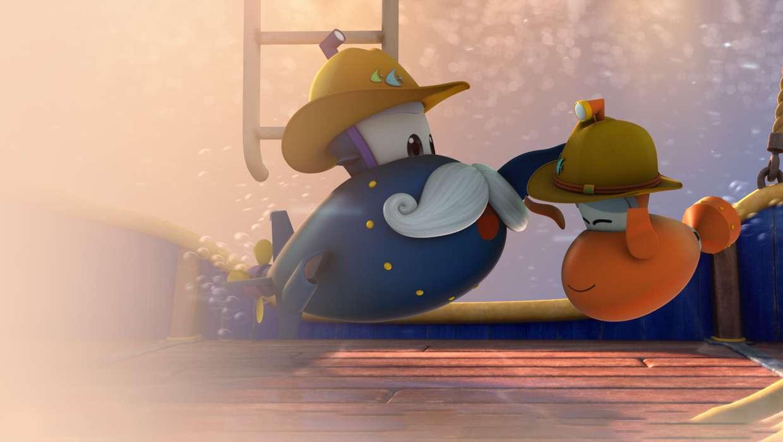 Марин и его друзья. Подводные истории смотреть сериал