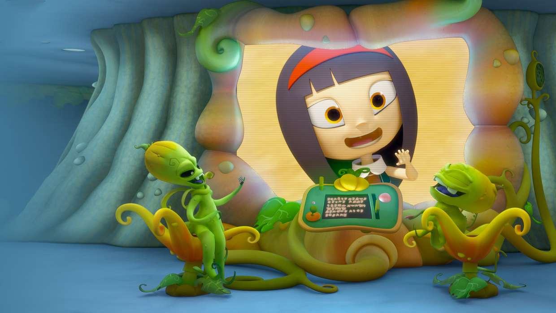Макс Грин и инопланетяне смотреть сериал