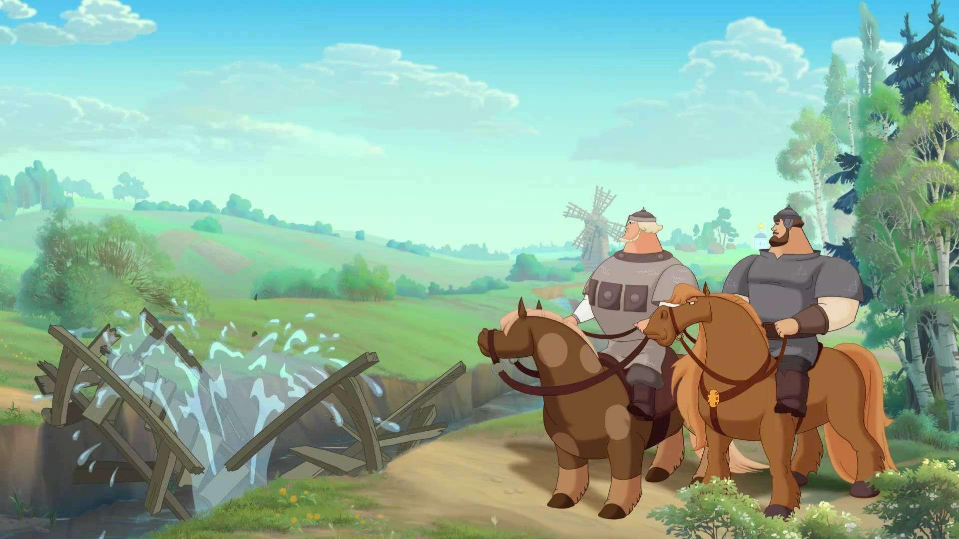 Три богатыря на дальних берегах смотреть фильм