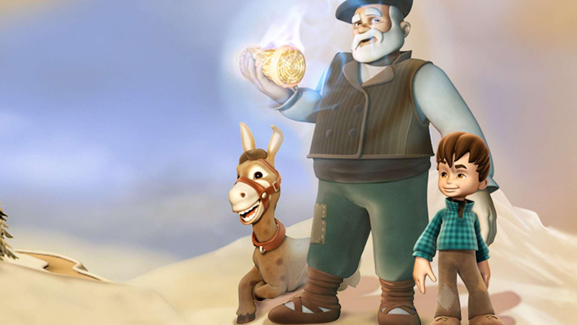 Санта и волшебный огонь смотреть фильм