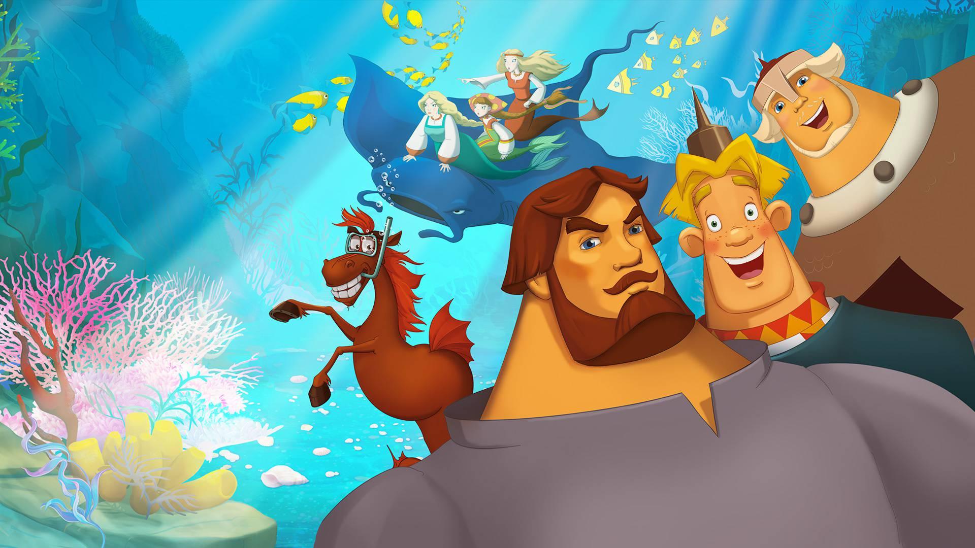 Три богатыря и Морской царь смотреть фильм