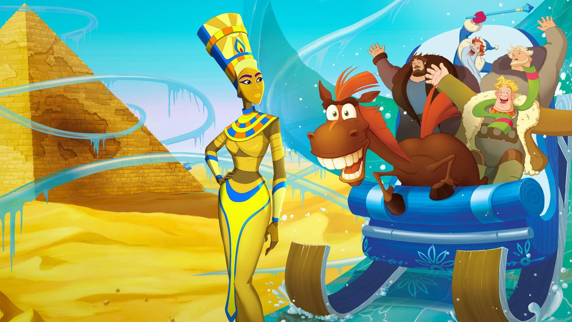 Три богатыря и принцесса Египта смотреть фильм