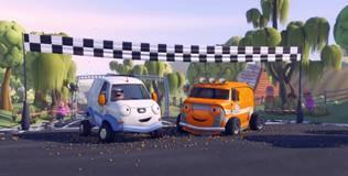 Олли: весёлый грузовичок - 8 серия. Бамптомское ралли