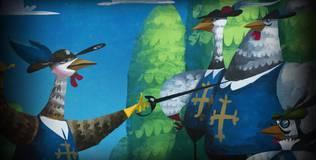 Волшебный фонарь - 8 серия. Юный Дартаньян и три мушкетёра