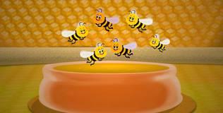 Шоу профессора Бинокса - 37 серия. Мёд