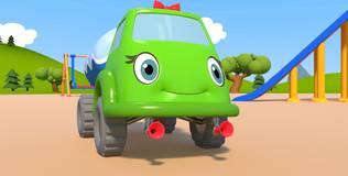 Синий трактор на детской площадке - 7 серия. Весёлая победа