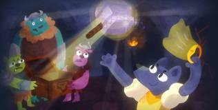 Волшебный фонарь - 66 серия. Молот Тора