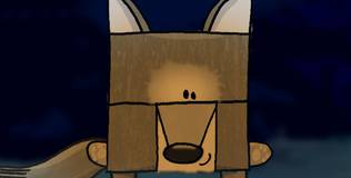 Квадратные зверюшки - 25 серия. Волчица Иса одна дома