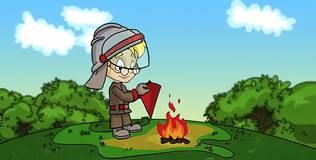 Профессор Почемушкин - Почему пожарные ведра конической формы?