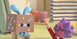 Малышарики - 57 серия. Робот