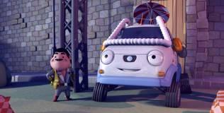 Олли: весёлый грузовичок - 14 серия. Гигантский скачок для грузовечества