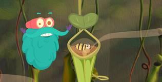 Шоу профессора Бинокса - 4 серия. Плотоядные растения