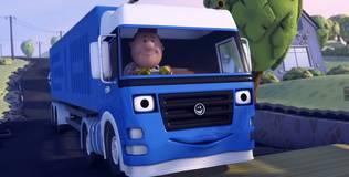 Олли: весёлый грузовичок - 63 серия. Новый мост