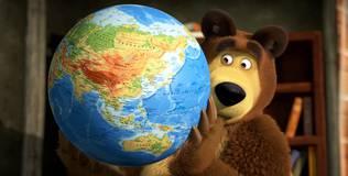 Маша и Медведь. Караоке - 24 серия. Песенка про иностранные слова