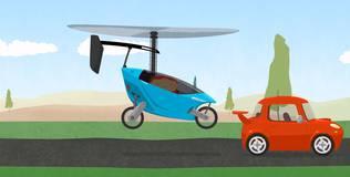 Доктор Машинкова - 13 серия. Летающий автомобиль