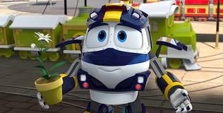 Роботы-поезда - 16 серия. Фестиваль