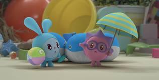 Малышарики - 148 серия. Три кита