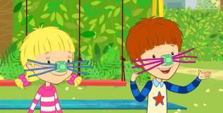 Дейзи и Олли - 1 серия. Зачем котам усы?