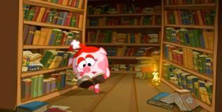 Смешарики - 171 серия. Библиотека