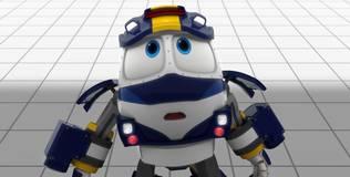 Роботы-поезда - 13 серия. Незваный гость