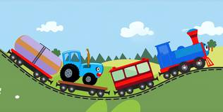 Синий трактор - 12 серия. Далеко и близко