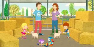 Дейзи и Олли - 45 серия. Чем можно помочь на ферме?