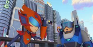 ДжиФайтерс. Город супергероев - 24  серия. Стальные люди