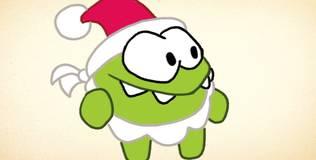 Ам Ням. Новый Год - Как нарисовать Ам Няма-деда Мороза?