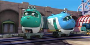 Чаггингтон: Весёлые паровозики - 34 серия. Зелёный паровоз