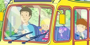 Дейзи и Олли. Детские песни - 6 серия. Колёса рисуют