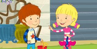 Дейзи и Олли - 43 серия. Как найти свои вещи?