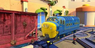 Чаггингтон: Весёлые паровозики - 7 серия. Чистим вагоны