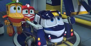 Роботы-поезда - 14 серия. Близкая победа
