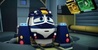 Роботы-поезда - 4 серия. Сбежавший вирус