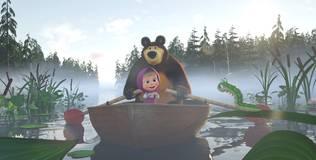 Маша и медведь: Песенки для малышей - 2 серия. Лодочка