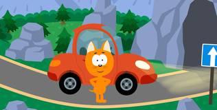 Котёнок и волшебный гараж - 14 серия. Пещера
