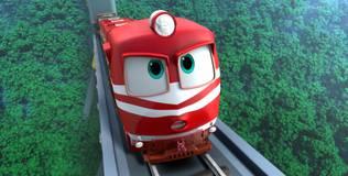 Роботы-поезда - 17 серия. Пробуждение Дюка