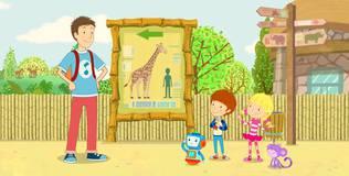 Дейзи и Олли - 50 серия. Почему у жирафа такая длинная шея?