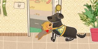 Клео — забавный щенок - 13 серия. Путешественник Амаду