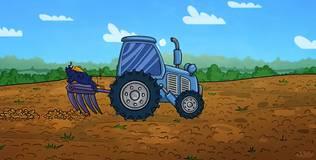 Профессор Почемушкин - Почему у трактора задние колеса больше передних?