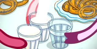 Смешарики - 200 серия. Молочное пари
