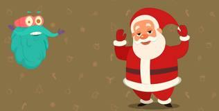 Шоу профессора Бинокса - 121 серия. Санта Клаус