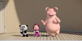 Маша и медведь: Песенки для малышей - 8 серия. Если весел ты