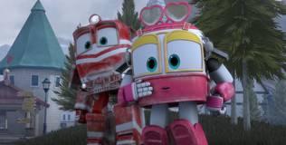 Роботы-поезда - 7 серия. Ремонт часов на башне