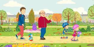 Дейзи и Олли - 34 серия. Почему у дедушки есть морщины?
