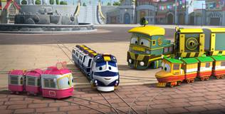 Роботы-поезда - 3 серия. Потерянные воспоминания