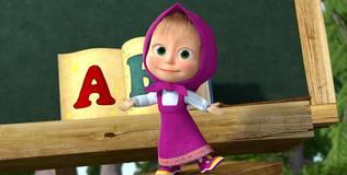 Маша и медведь: Песенки для малышей - 6 серия. Алфавит
