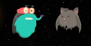Шоу профессора Бинокса - 1 серия. Летучие мыши