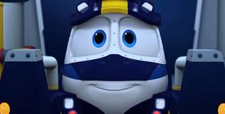 Роботы-поезда - 1 серия. Приключения начинаются